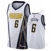 Barn NBA Tröja Indiana Pacers 2019-20 Cory Joseph 6# Vit Earned Edition Swingman..